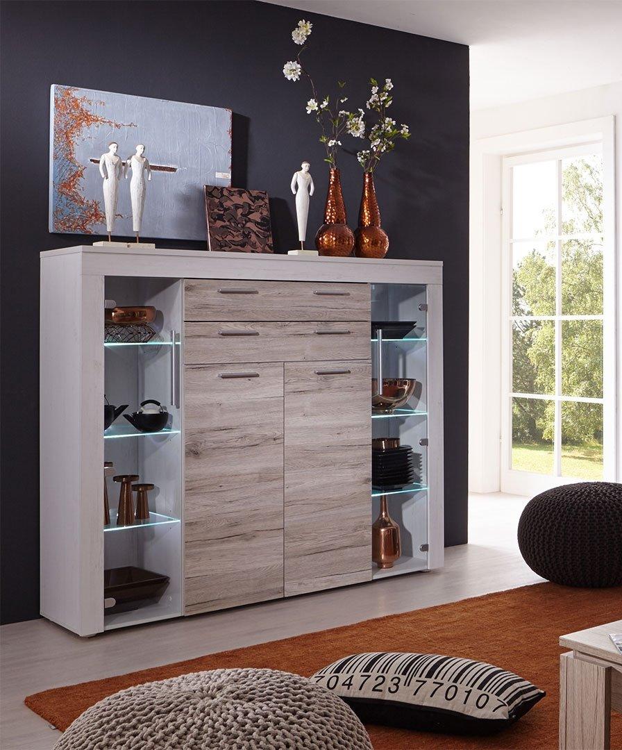 Highboard wohnzimmer interesting wunderschne kommode - Stylische mobel ...