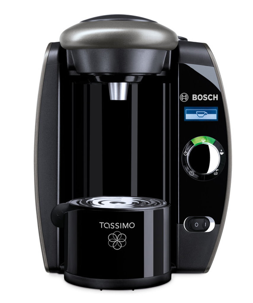 tassimo fidelia t65 silver hot drinks machine coffee machine capsules machine ebay. Black Bedroom Furniture Sets. Home Design Ideas