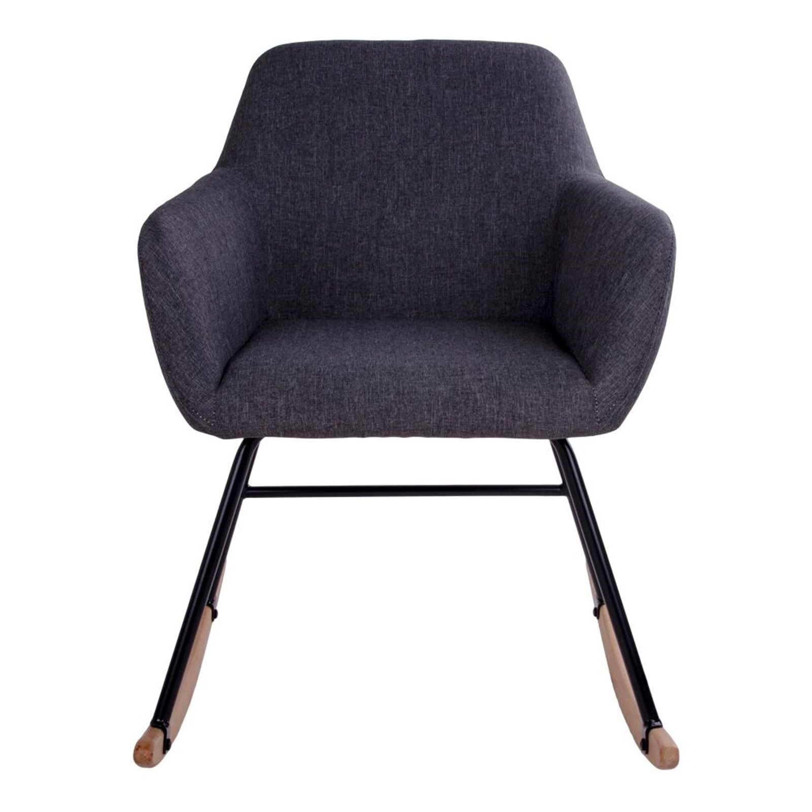 pkline schaukelstuhl yma in grau stuhl sessel schwingstuhl relaxstuhl m bel wohnen st hle hocker. Black Bedroom Furniture Sets. Home Design Ideas
