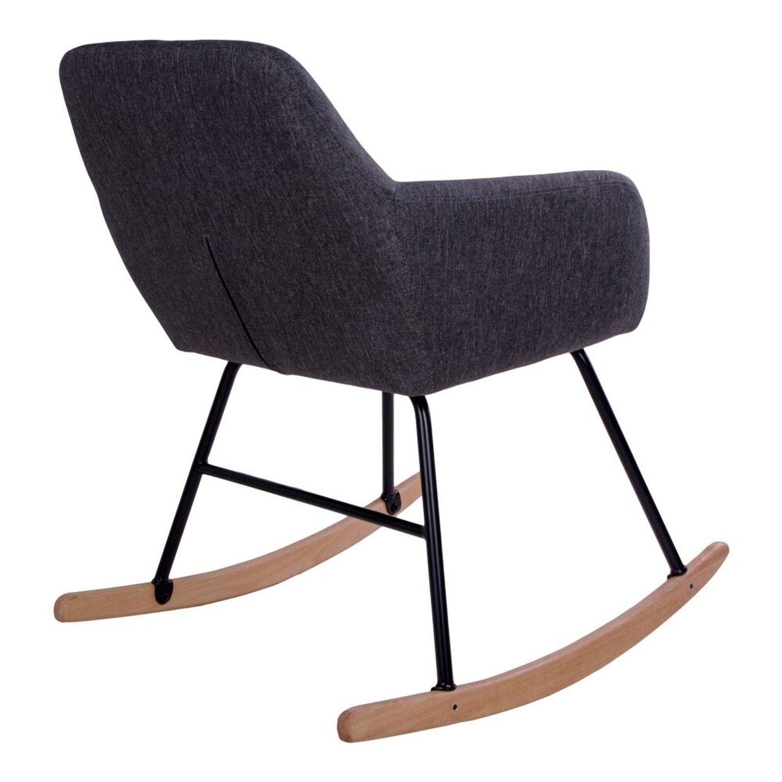pkline schaukelstuhl yma in grau stuhl sessel schwingstuhl. Black Bedroom Furniture Sets. Home Design Ideas