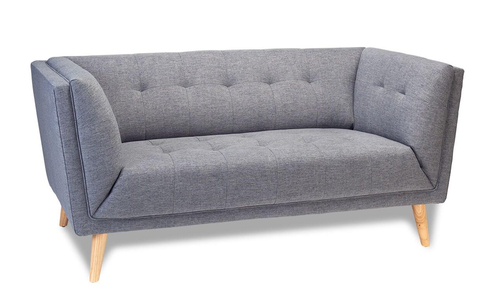 pkline sofa prim in grau couch wohnlandschaft wohnzimmer. Black Bedroom Furniture Sets. Home Design Ideas