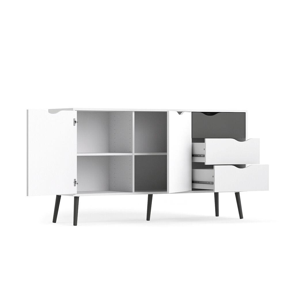 sideboard napoli kommode anrichte schrank highboard. Black Bedroom Furniture Sets. Home Design Ideas