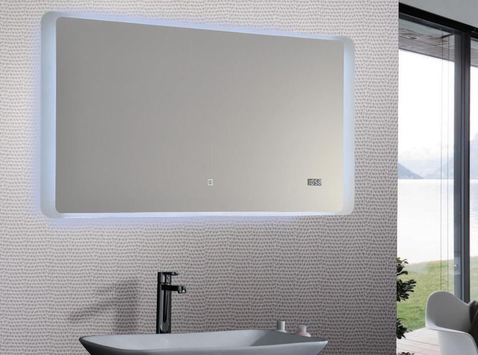 led lichtspiegel 100x50 touch badezimmer bad spiegel. Black Bedroom Furniture Sets. Home Design Ideas