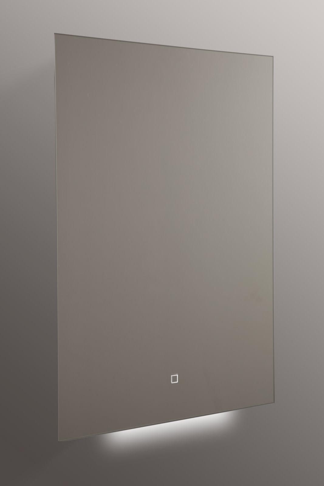 design led lichtspiegel 50x70cm touch badezimmer bad. Black Bedroom Furniture Sets. Home Design Ideas
