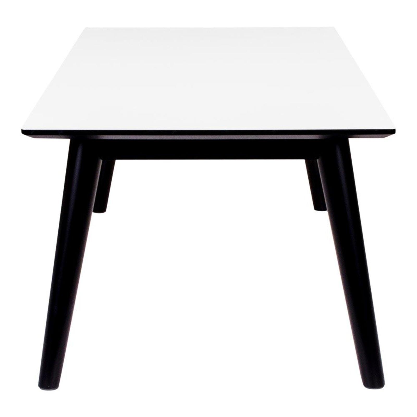 pkline couchtisch cooper schwarz wei wohnzimmertisch. Black Bedroom Furniture Sets. Home Design Ideas