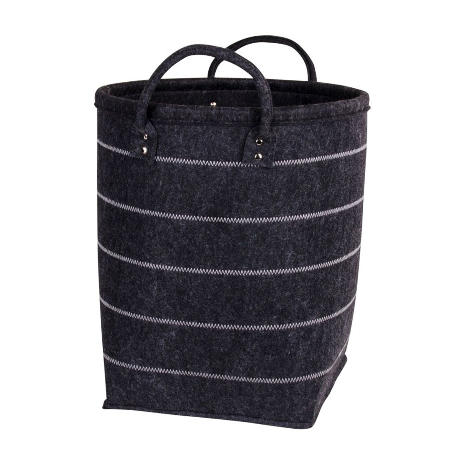 4tlg korb set sara in grau mit griffen k rbe kosmetik aufbewahrung deko m bel wohnen wohnzimmer. Black Bedroom Furniture Sets. Home Design Ideas