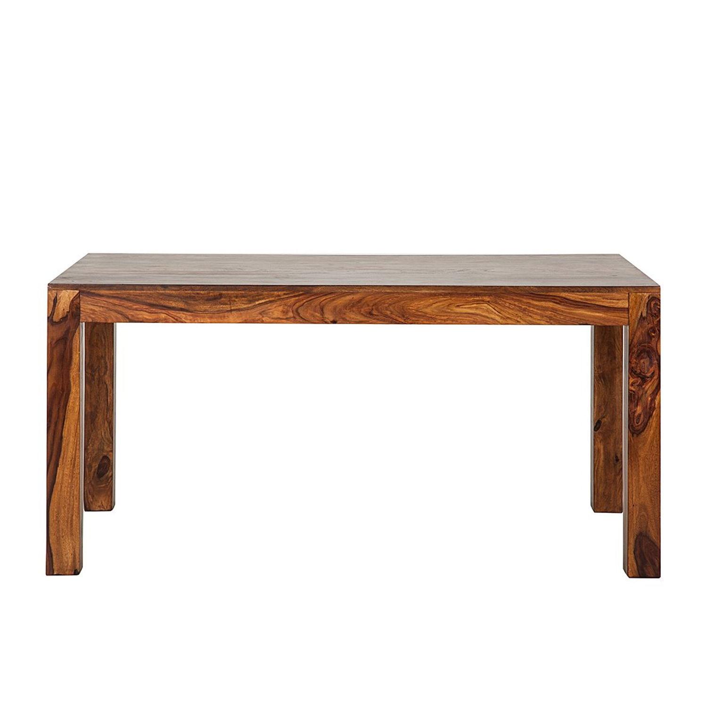 Esstisch sheesham honigbraun 200x90cm esszimmer holz tisch for Sheesham stuhle esszimmer