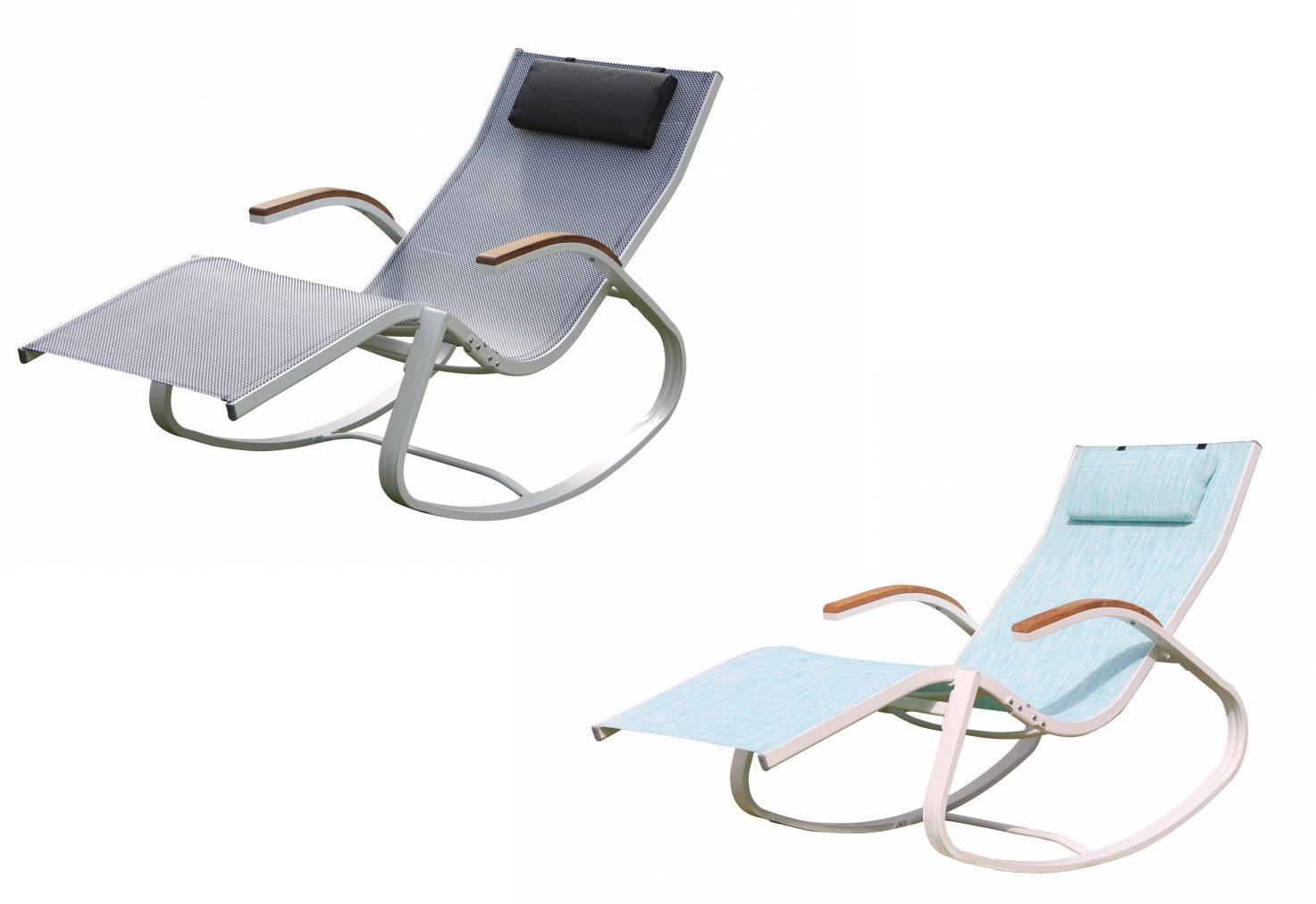 Leco design schaukelstuhl gartenliege sonnenliege for Leco schaukelstuhl mit polsterauflage
