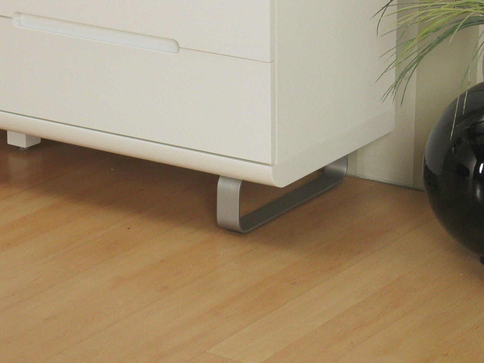 kommode spacy hochglanz wei sideboard schubladen schrank highboard m bel wohnen wohnzimmer. Black Bedroom Furniture Sets. Home Design Ideas