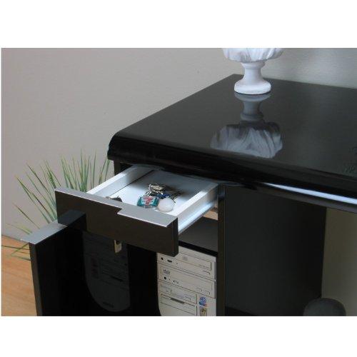 schreibtisch milano computer pc tisch b rotisch. Black Bedroom Furniture Sets. Home Design Ideas