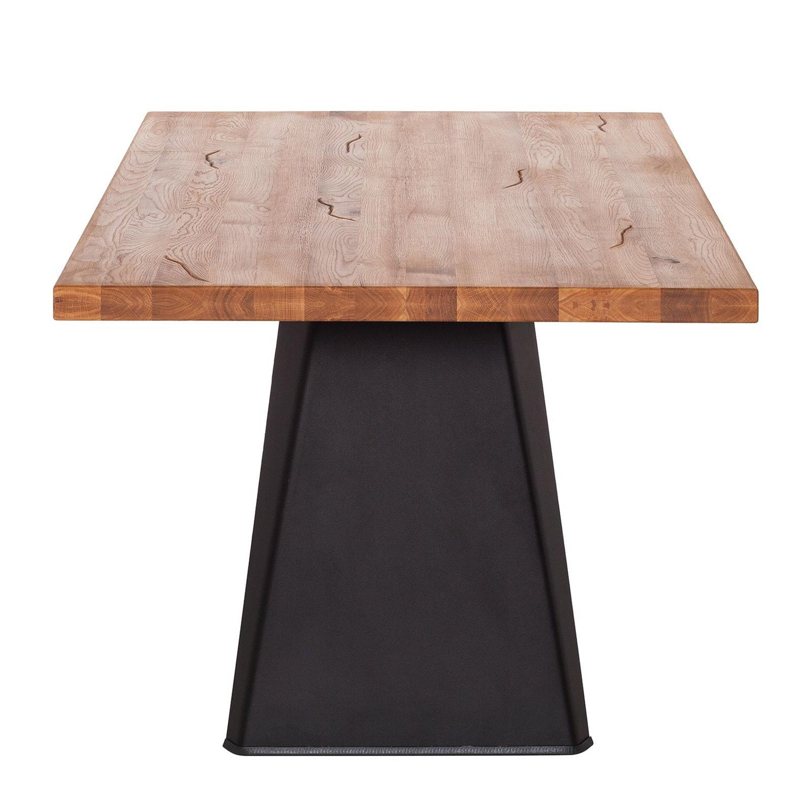 Design Esstisch Eiche Massiv Eisen 200x100 Tisch Küchentisch Holztisch  Esszimmer U2013 Bild 3