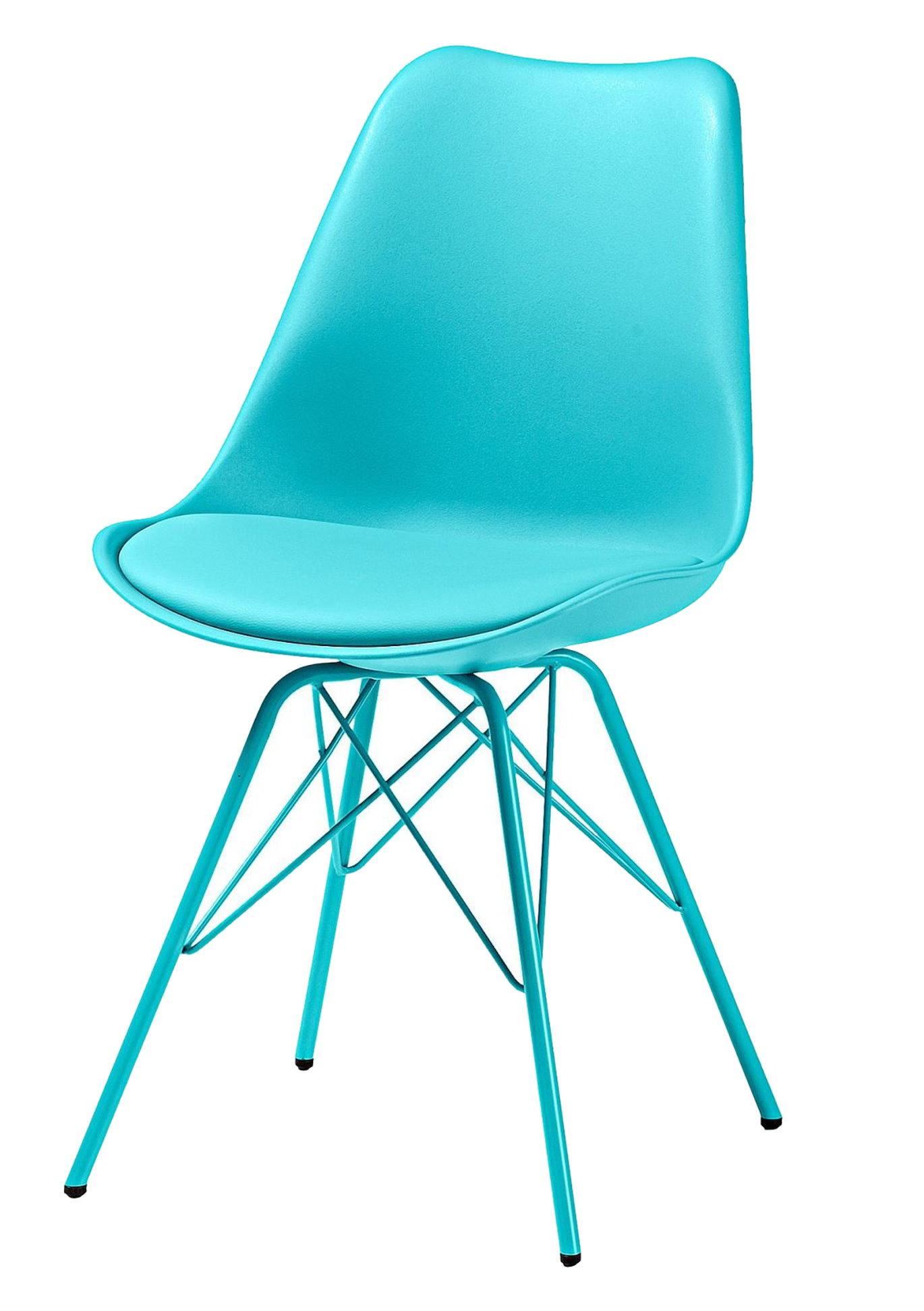4x retro design esszimmerstuhl stuhlset metall stuhl for Design stuhl metall