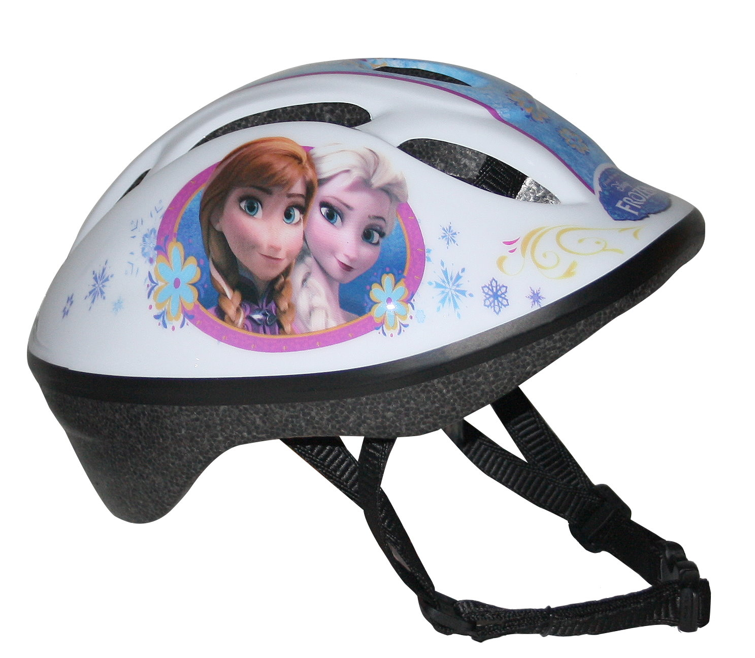 disney m dchen frozen fahrradhelm f r kinder rosa m. Black Bedroom Furniture Sets. Home Design Ideas