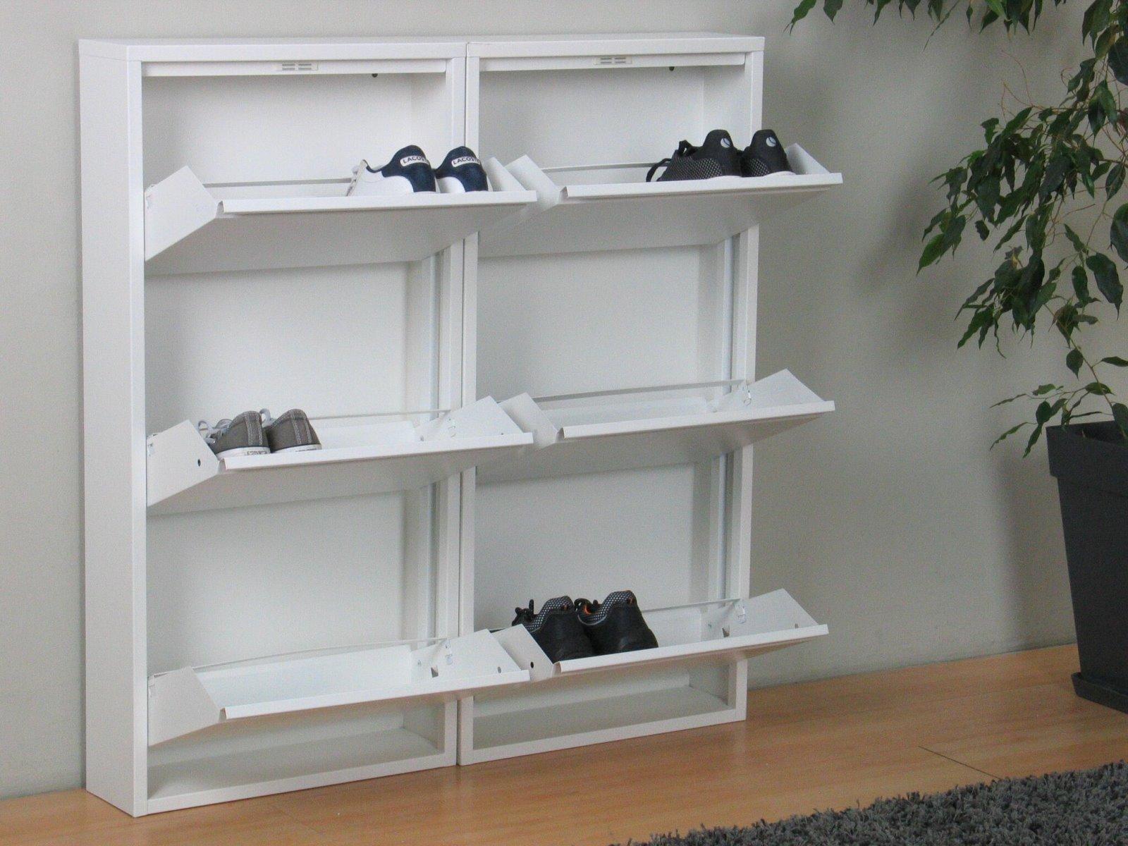 metall weiss 5 klappen best np uac metall schuhkipper regal wei klappen in ahnatal with metall. Black Bedroom Furniture Sets. Home Design Ideas