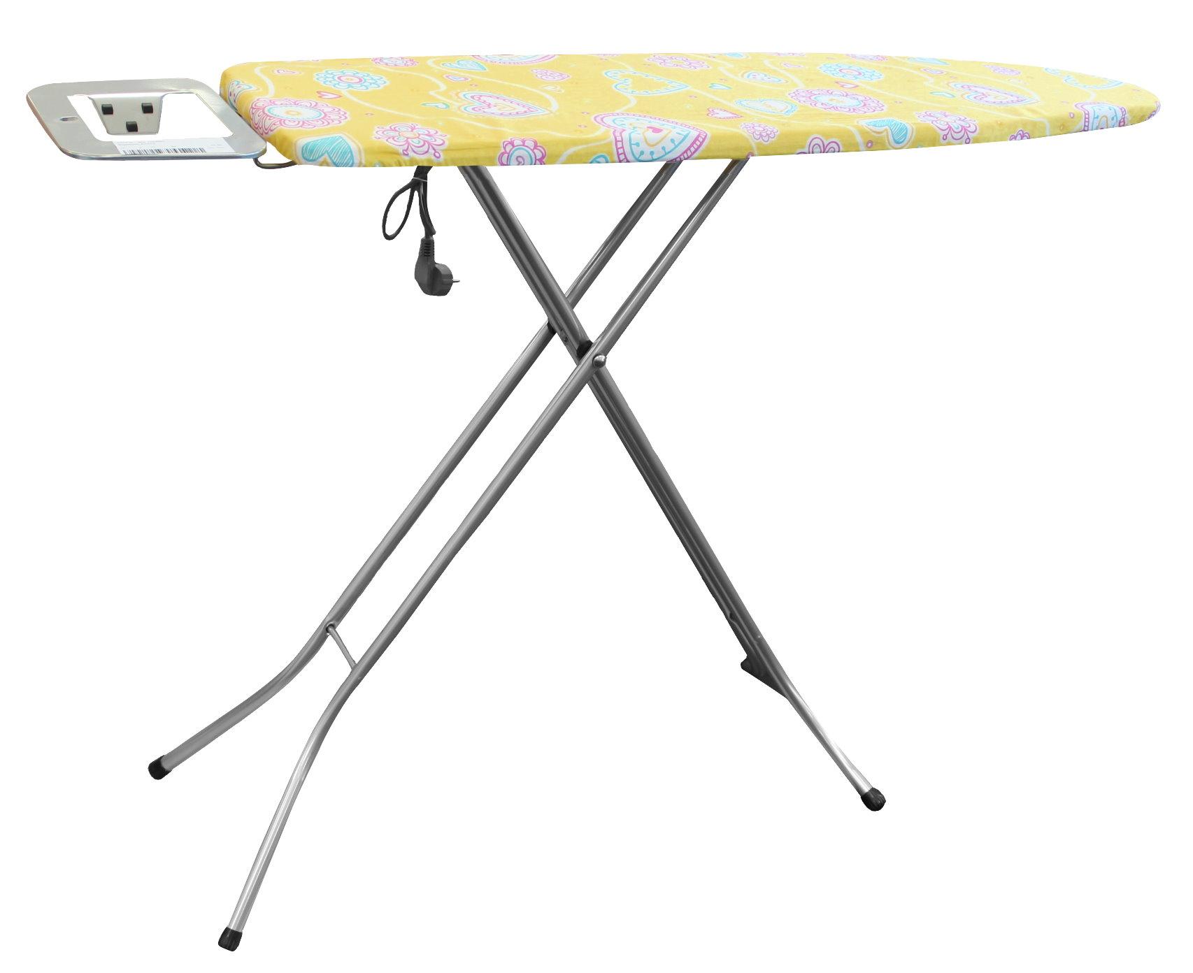 Lectrique planche repasser 114x34 cm prise de courant - Table a repasser avec prise integree ...
