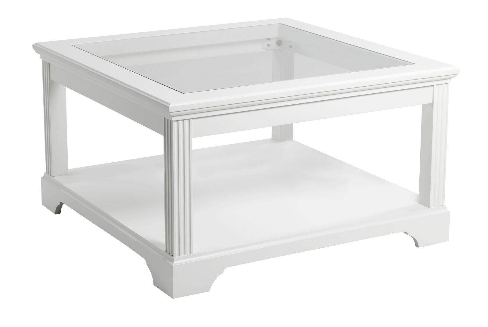 couchtisch charlot glas holz wohnzimmer tisch beistelltisch wei teilmassiv ebay. Black Bedroom Furniture Sets. Home Design Ideas