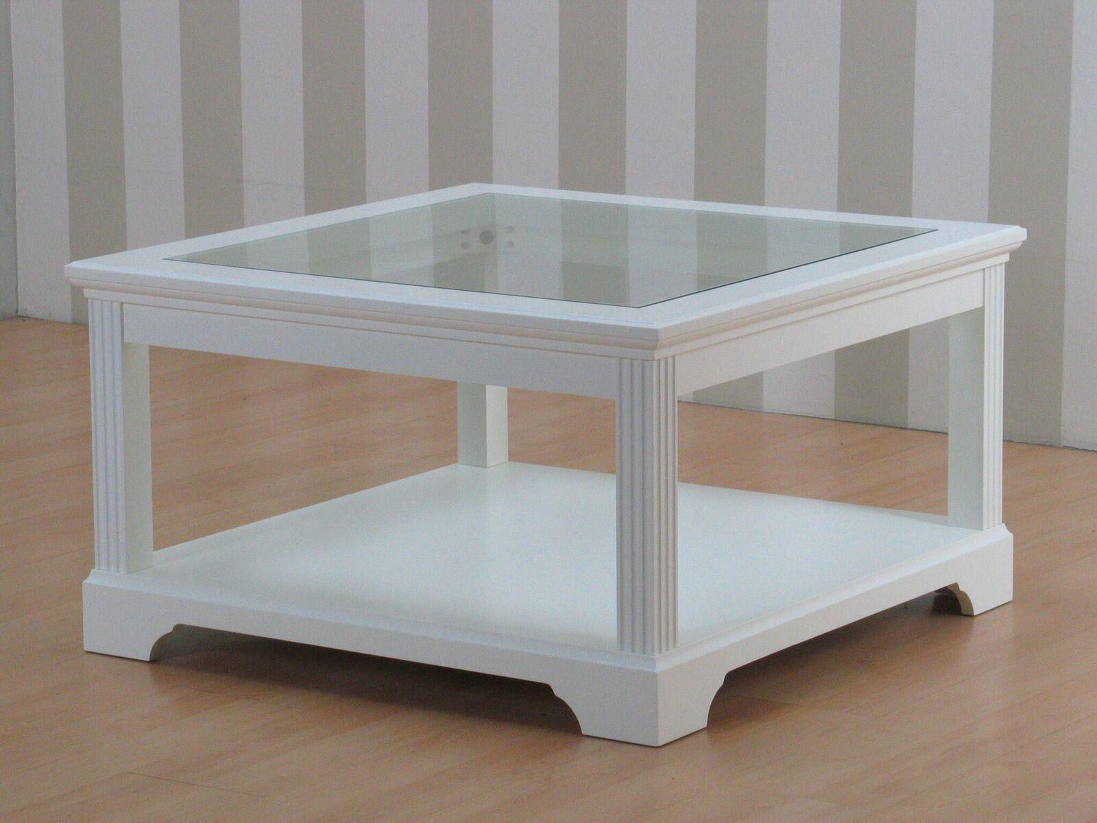 couchtisch charlot glas holz wohnzimmer tisch beistelltisch wei teilmassiv m bel wohnen tische. Black Bedroom Furniture Sets. Home Design Ideas