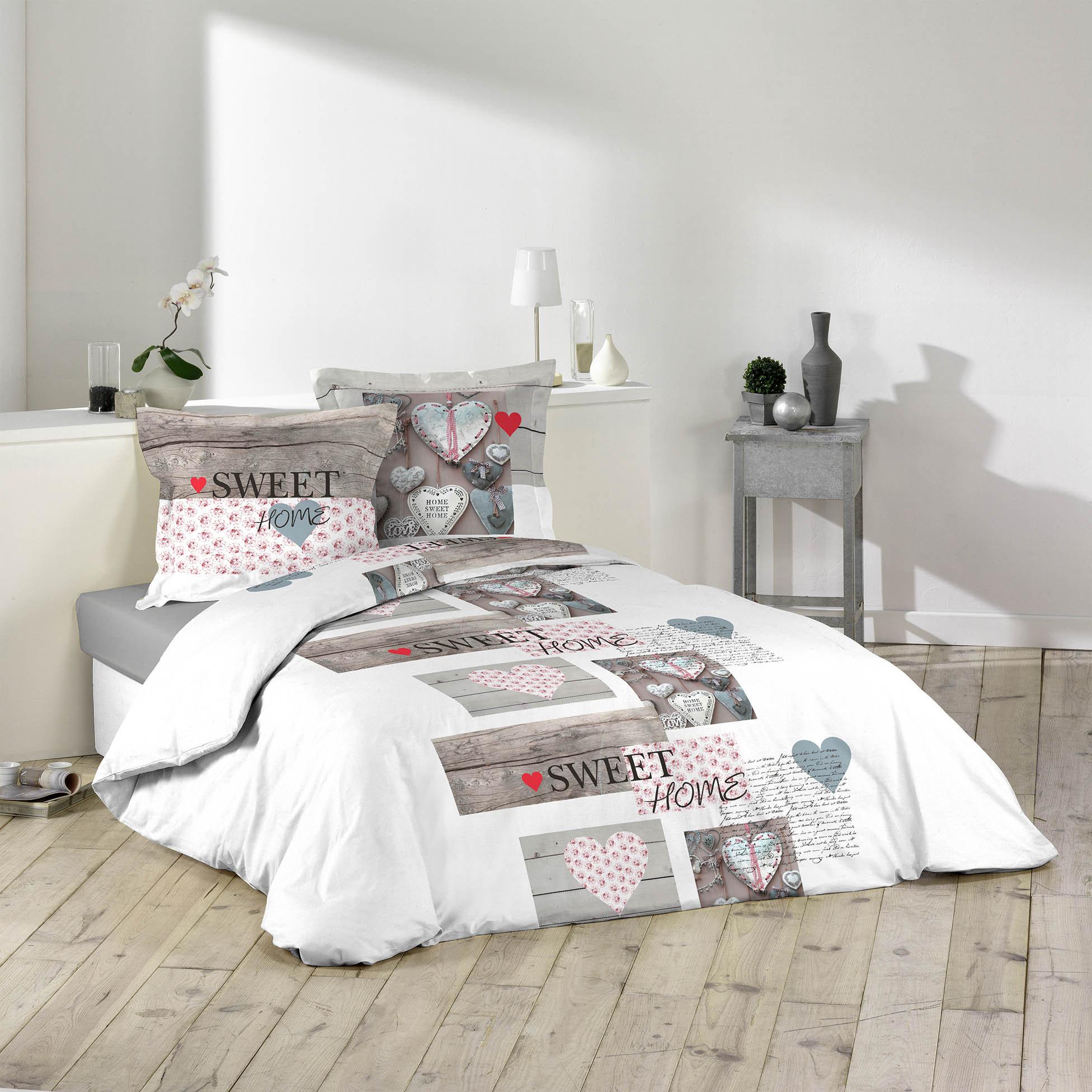 3tlg landhaus bettw sche 240x220 baumwolle bettdecke bergr e bettgarnitur 4059865005466 ebay. Black Bedroom Furniture Sets. Home Design Ideas