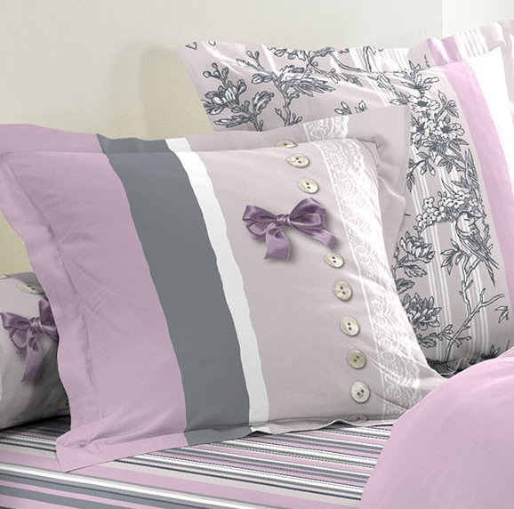 6tlg landhaus bettw sche 240x220 baumwolle bettdecke bergr e bettgarnitur m bel wohnen. Black Bedroom Furniture Sets. Home Design Ideas