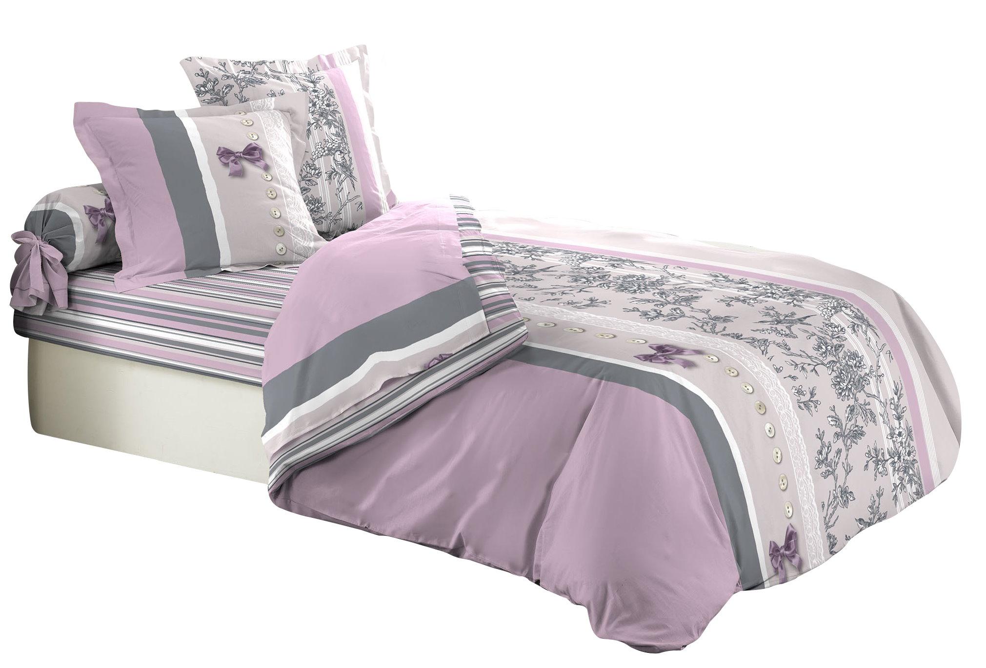 6tlg landhaus bettw sche 240x220 baumwolle bettdecke bergr e bettgarnitur ebay. Black Bedroom Furniture Sets. Home Design Ideas