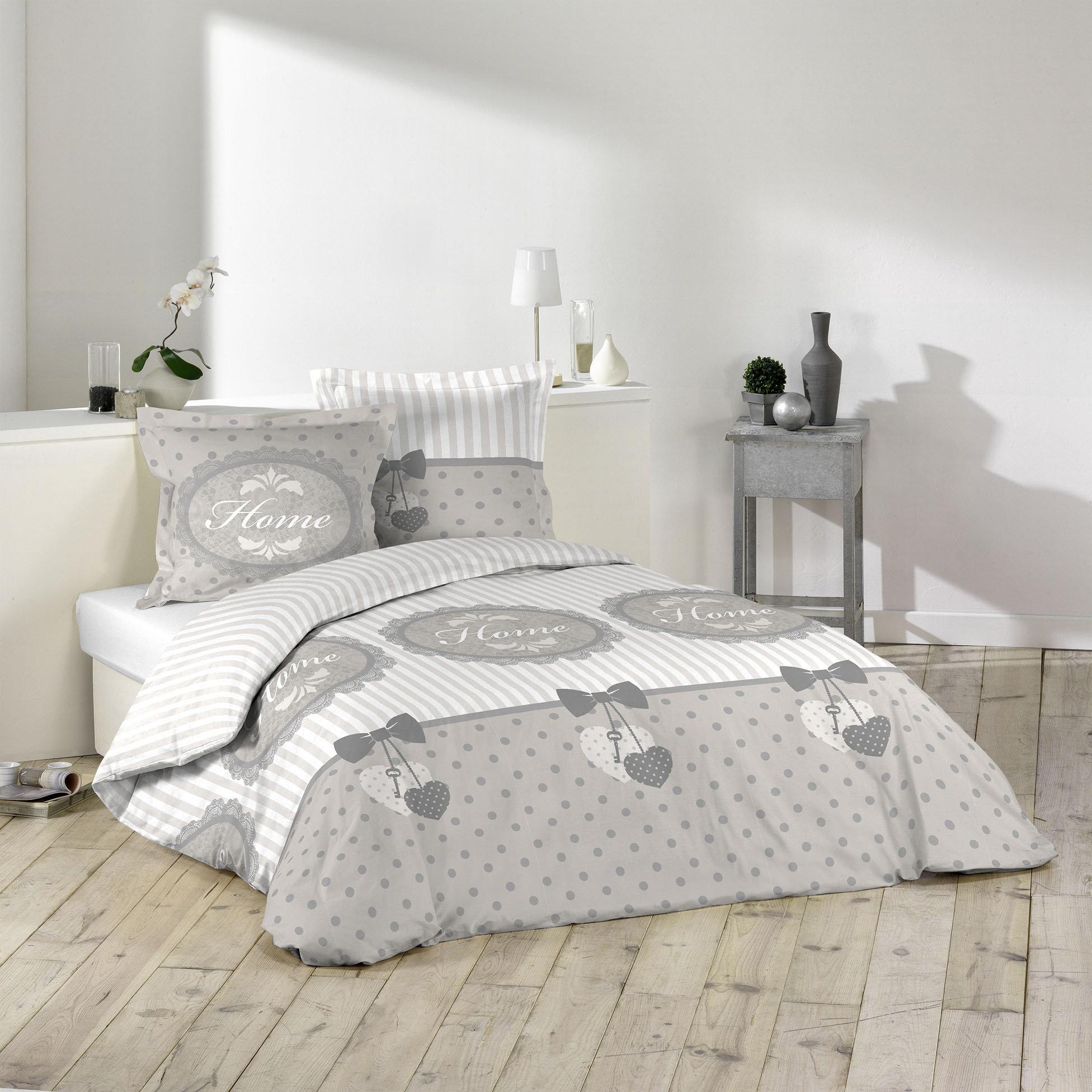 3tlg landhaus bettw sche 240x220 baumwolle bettdecke bergr e bettgarnitur ebay. Black Bedroom Furniture Sets. Home Design Ideas