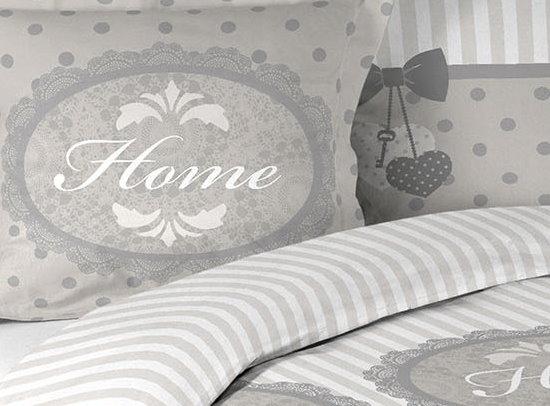 3tlg landhaus bettw sche 240x220 baumwolle bettdecke. Black Bedroom Furniture Sets. Home Design Ideas