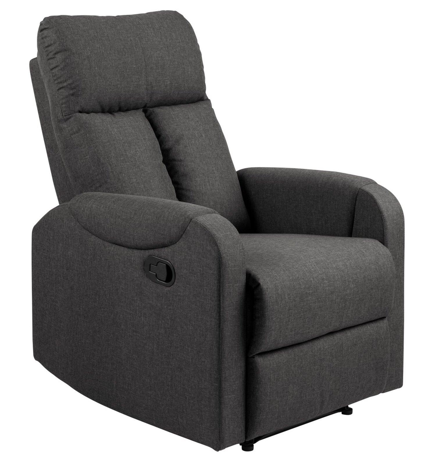 Pkline sessel rocky in grau relaxsessel fernsehsessel ebay for Relaxsessel grau stoff