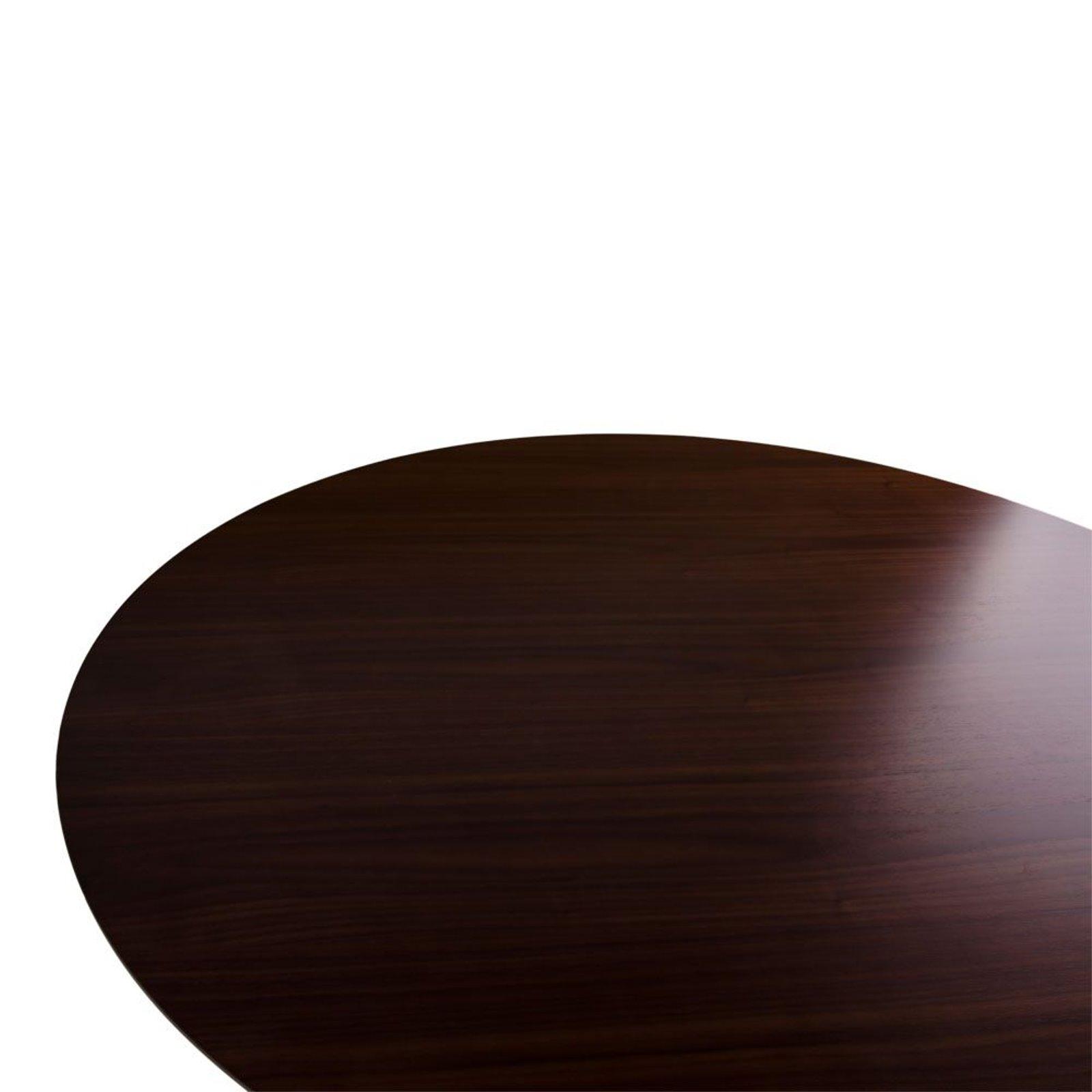 Esstisch Coavas Rund Küchentisch Modern Büro: Esstisch HELLO Esszimmertisch Walnuss Dekor Küchentisch