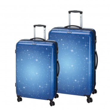 CHECK.IN 2tlg. Trolley Set L XL Reisekoffer Kofferset Koffer ABS Polycarbonat – Bild 1