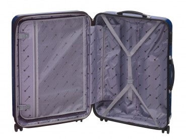 CHECK.IN 2tlg. Trolley Set L XL Reisekoffer Kofferset Koffer ABS Polycarbonat – Bild 3