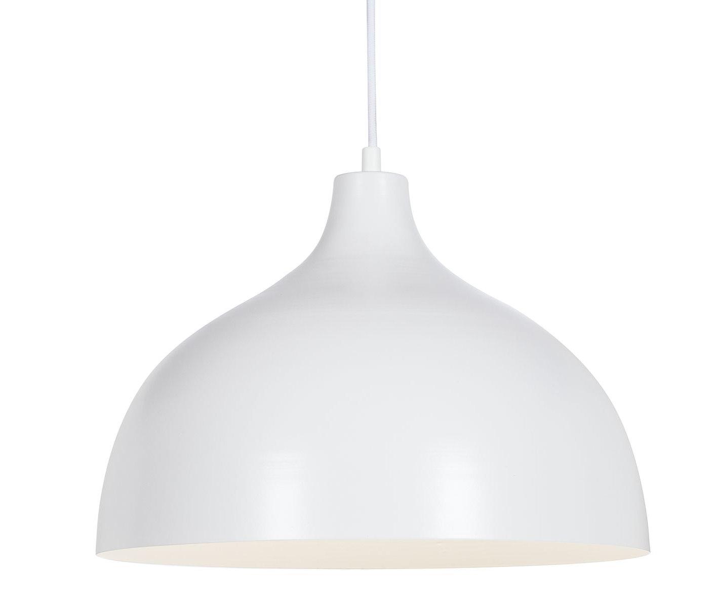 metall pendelleuchte 36cm lampe leuchte h ngelampe deckenlampe beleuchtung wei ebay. Black Bedroom Furniture Sets. Home Design Ideas