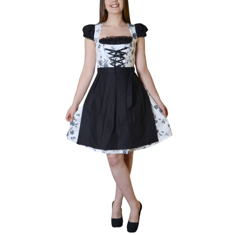 dirndl trachtenkleid tracht kleid oktoberfest kleidung. Black Bedroom Furniture Sets. Home Design Ideas