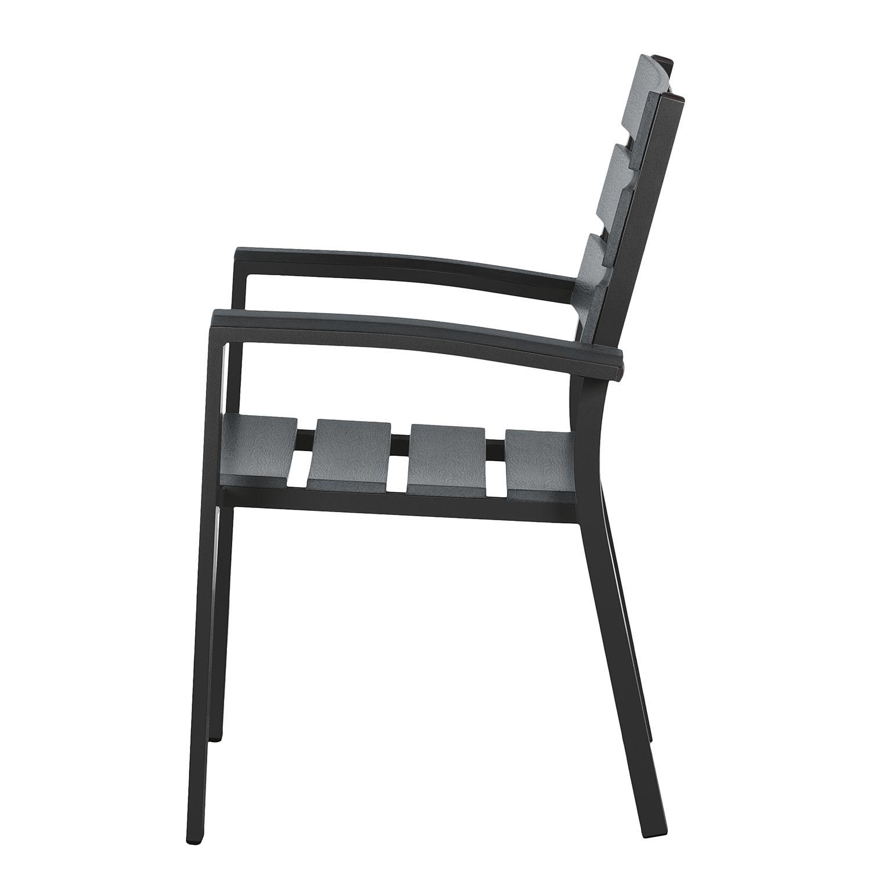 4x gartenstuhl polywood aluminium alu sessel stuhl set. Black Bedroom Furniture Sets. Home Design Ideas