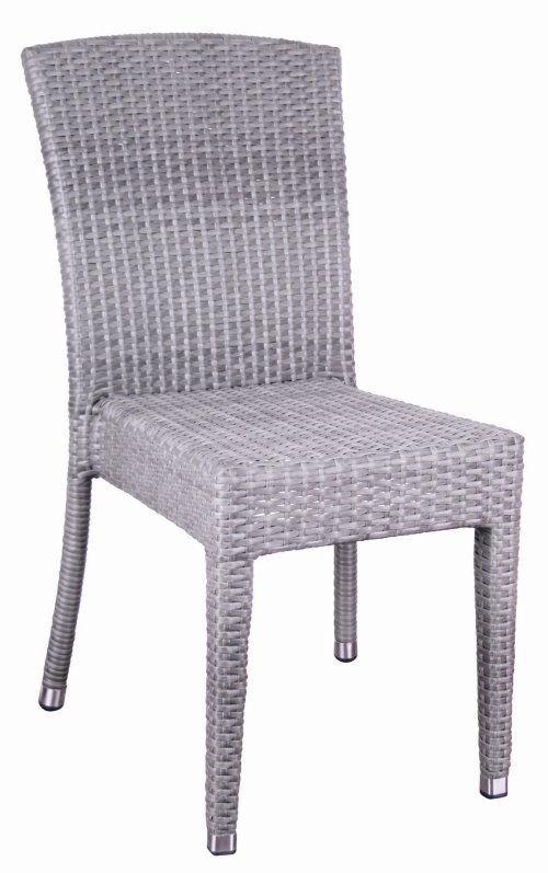 rattan stapelstuhl maui gastronomie m bel garten sessel stuhl gartenstuhl quarz ebay. Black Bedroom Furniture Sets. Home Design Ideas