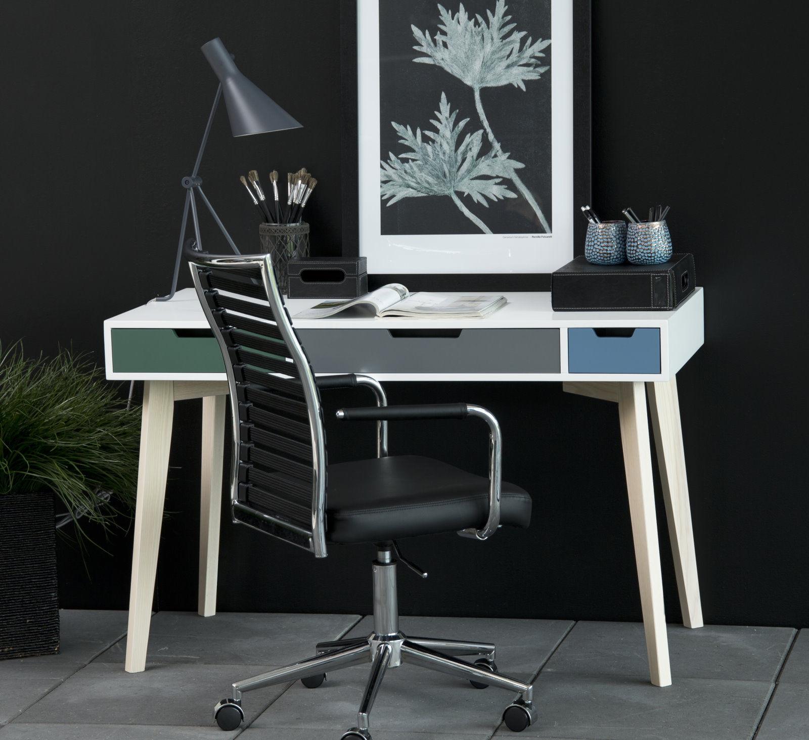 pkline schreibtisch in weiss b rotisch holztisch tisch computertisch m bel wohnen tische. Black Bedroom Furniture Sets. Home Design Ideas