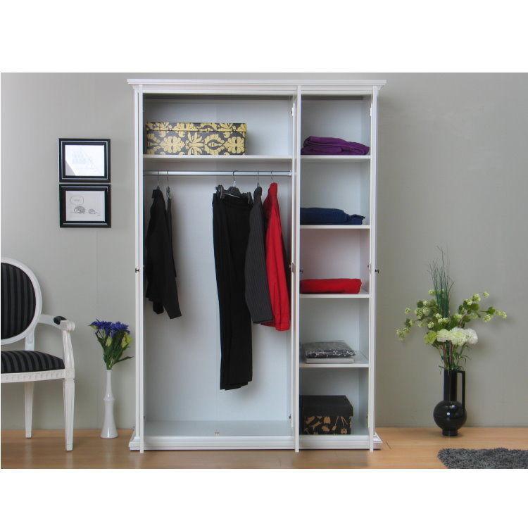 paris kleiderschrank schlafzimmerschrank fl gelt renschrank wei m bel wohnen schlafzimmer. Black Bedroom Furniture Sets. Home Design Ideas