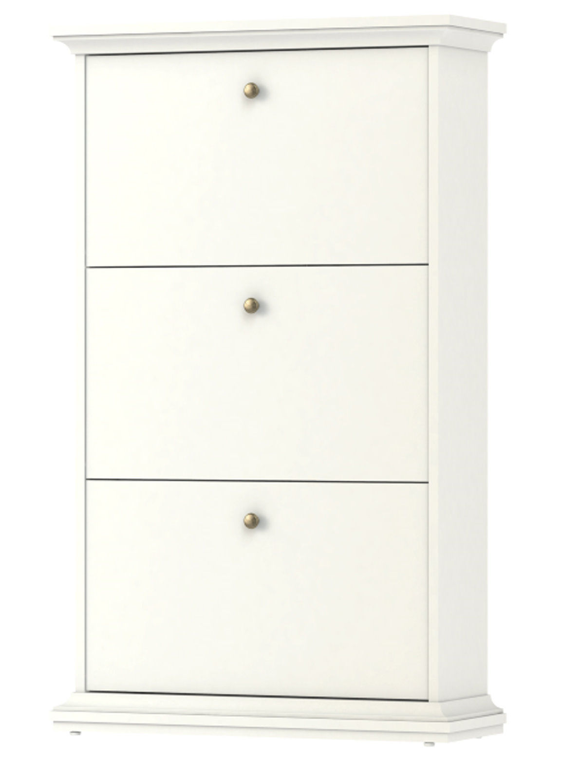 meuble chaussures paris armoire de couloir dielen blanc maison campagne ebay. Black Bedroom Furniture Sets. Home Design Ideas