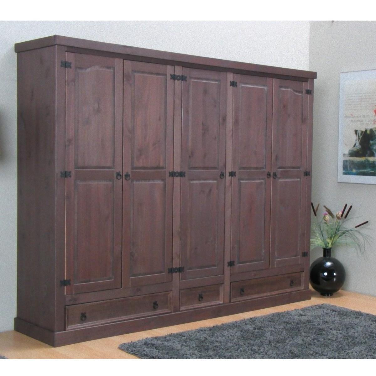 5trg massiv kiefer mexiko kleiderschrank new mexico schlafzimmer schrank m bel wohnen schlafzimmer. Black Bedroom Furniture Sets. Home Design Ideas