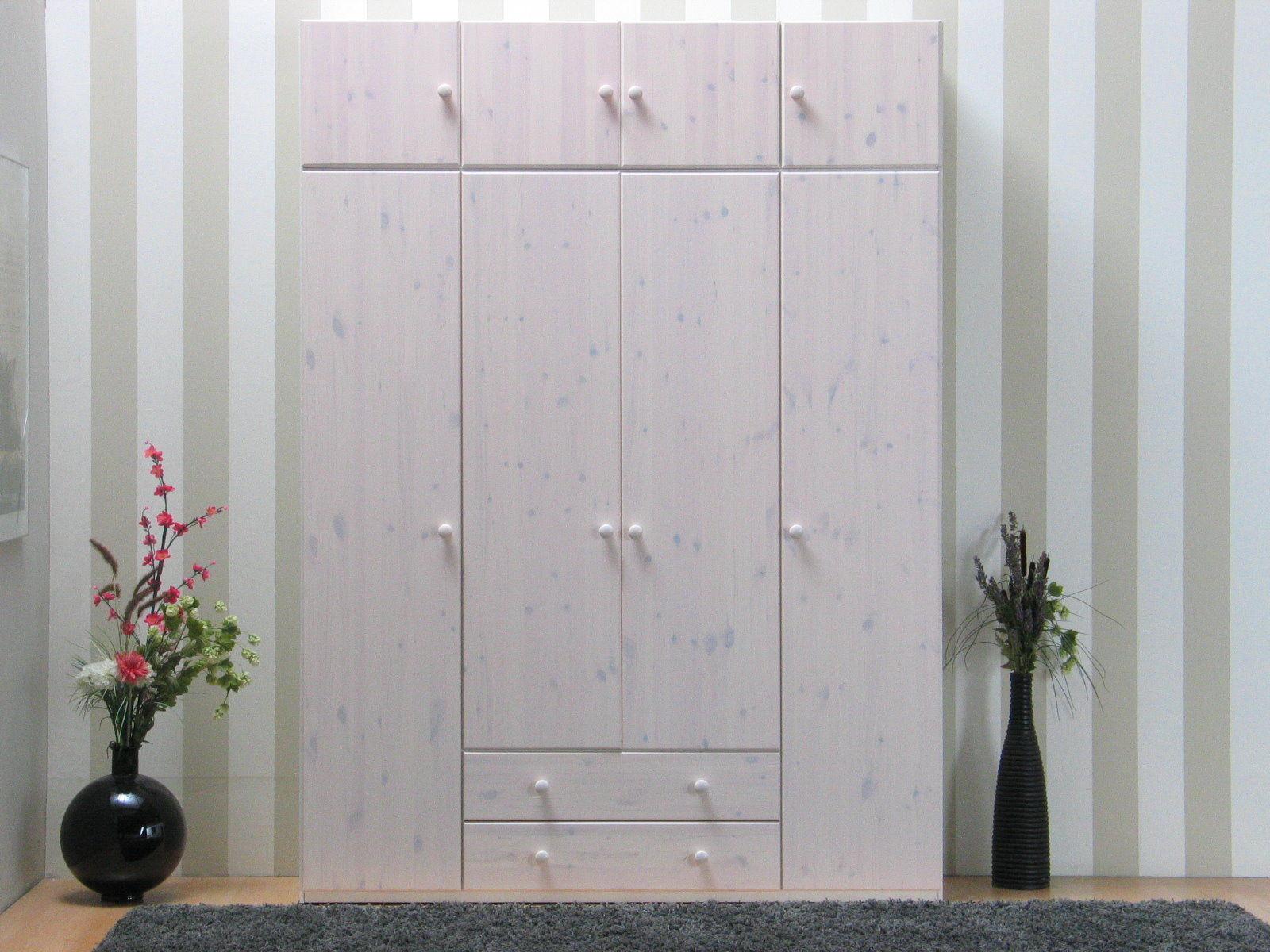 kleiderschrank 4 t rig aufsatz leeds teilmassiv. Black Bedroom Furniture Sets. Home Design Ideas