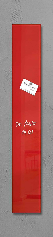 sigel design glas magnetboard 12x78cm magnet magnettafel pinnwand wandboard business industrie. Black Bedroom Furniture Sets. Home Design Ideas