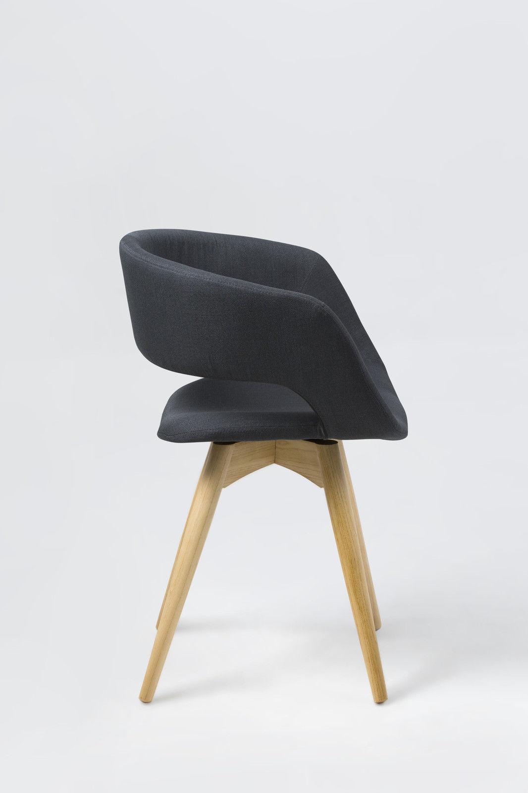 pkline esszimmerstuhl in dunkelgrau esszimmer holz stuhl. Black Bedroom Furniture Sets. Home Design Ideas