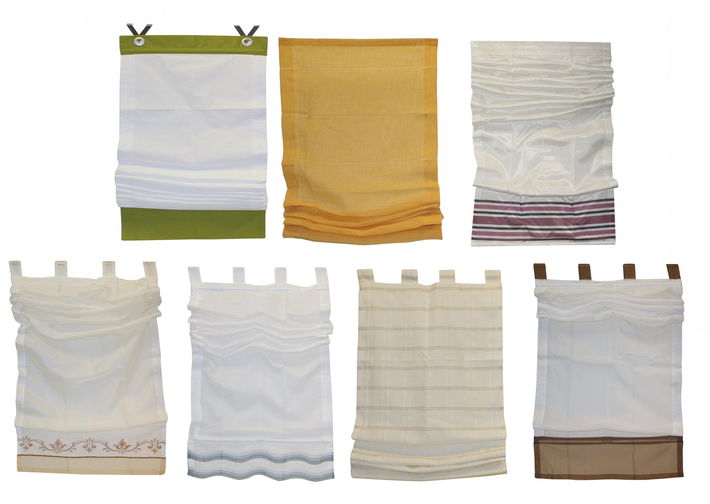 raffrollo fenster falt rollo plissee fertideko gardine vorhang fertiggardine ebay. Black Bedroom Furniture Sets. Home Design Ideas