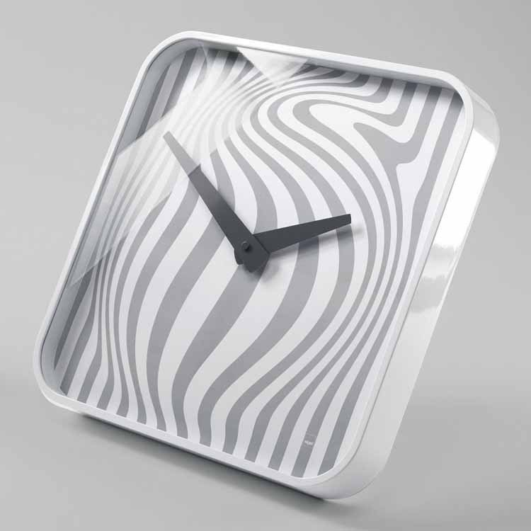 B ware sigel design wanduhr opta artetempus wu120 uhr for Haushalt design