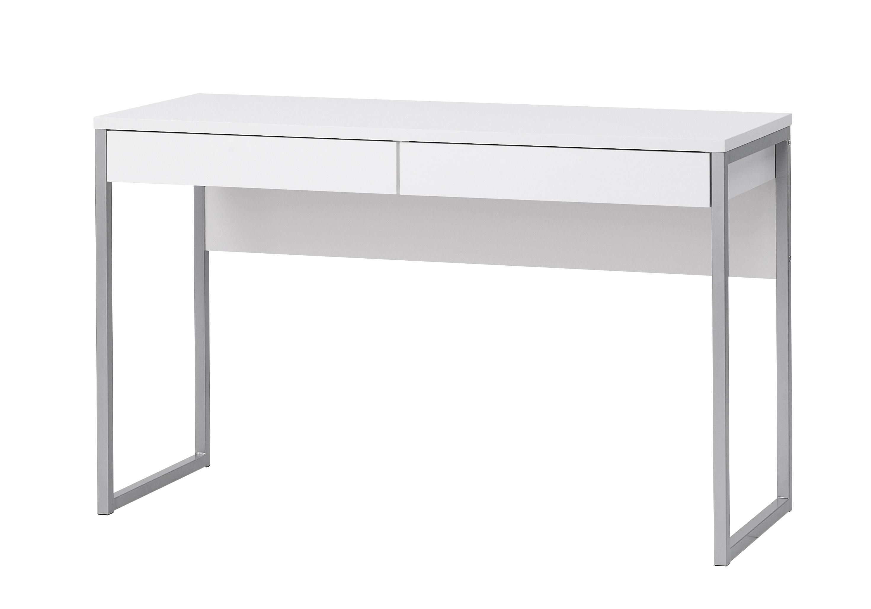 Schreibtisch weiß mit schubladen  Schreibtisch Computer PC Tisch Arbeitstisch