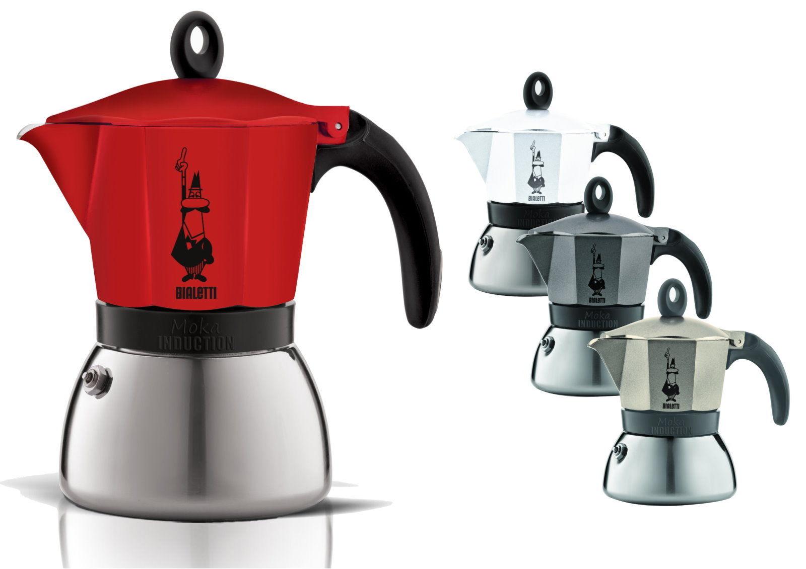 bialetti induktion espressokocher 6 tassen moka espresso. Black Bedroom Furniture Sets. Home Design Ideas