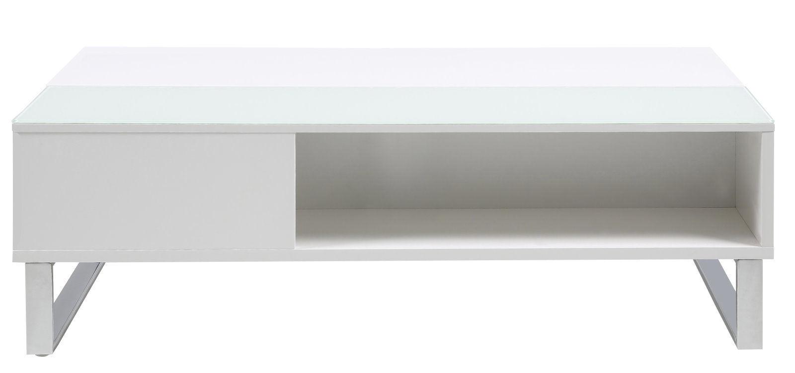 pkline couchtisch beistelltisch wohnzimmertisch holztisch wei hebefunktion m bel wohnen. Black Bedroom Furniture Sets. Home Design Ideas