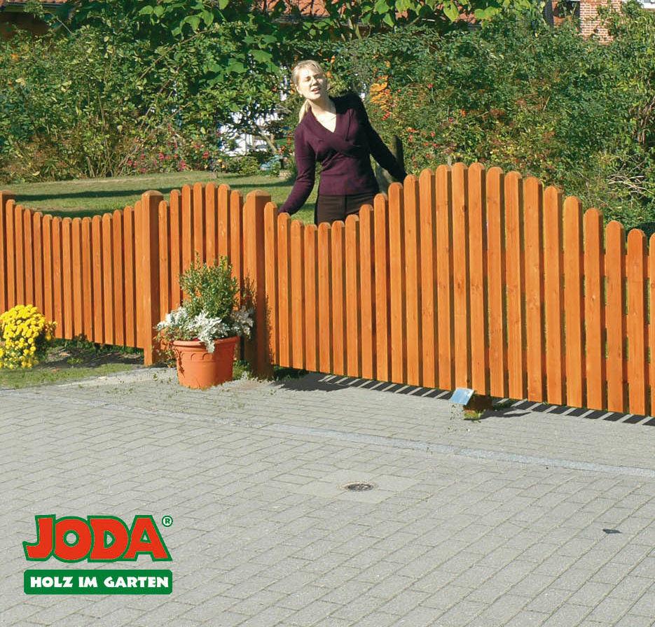 JODA Pforte 100x80 90 Zaunpforte Zaun Vorgartenzaun Holz