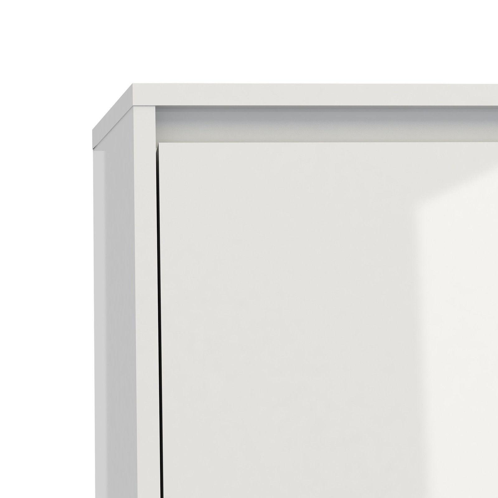 schuhschrank light schuhkipper schuhregal flur dielen schrank weiss hochglanz ebay. Black Bedroom Furniture Sets. Home Design Ideas