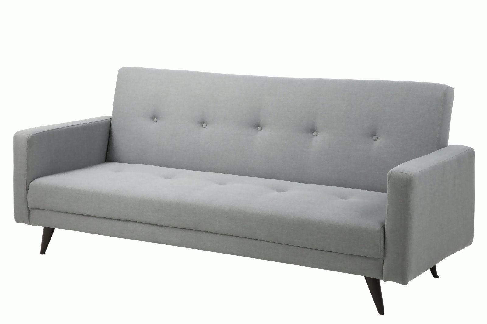 pkline schlafsofa in hellgrau 3 sitzer sofa couch schlafcouch - Sofacouch Mit Schlafcouch