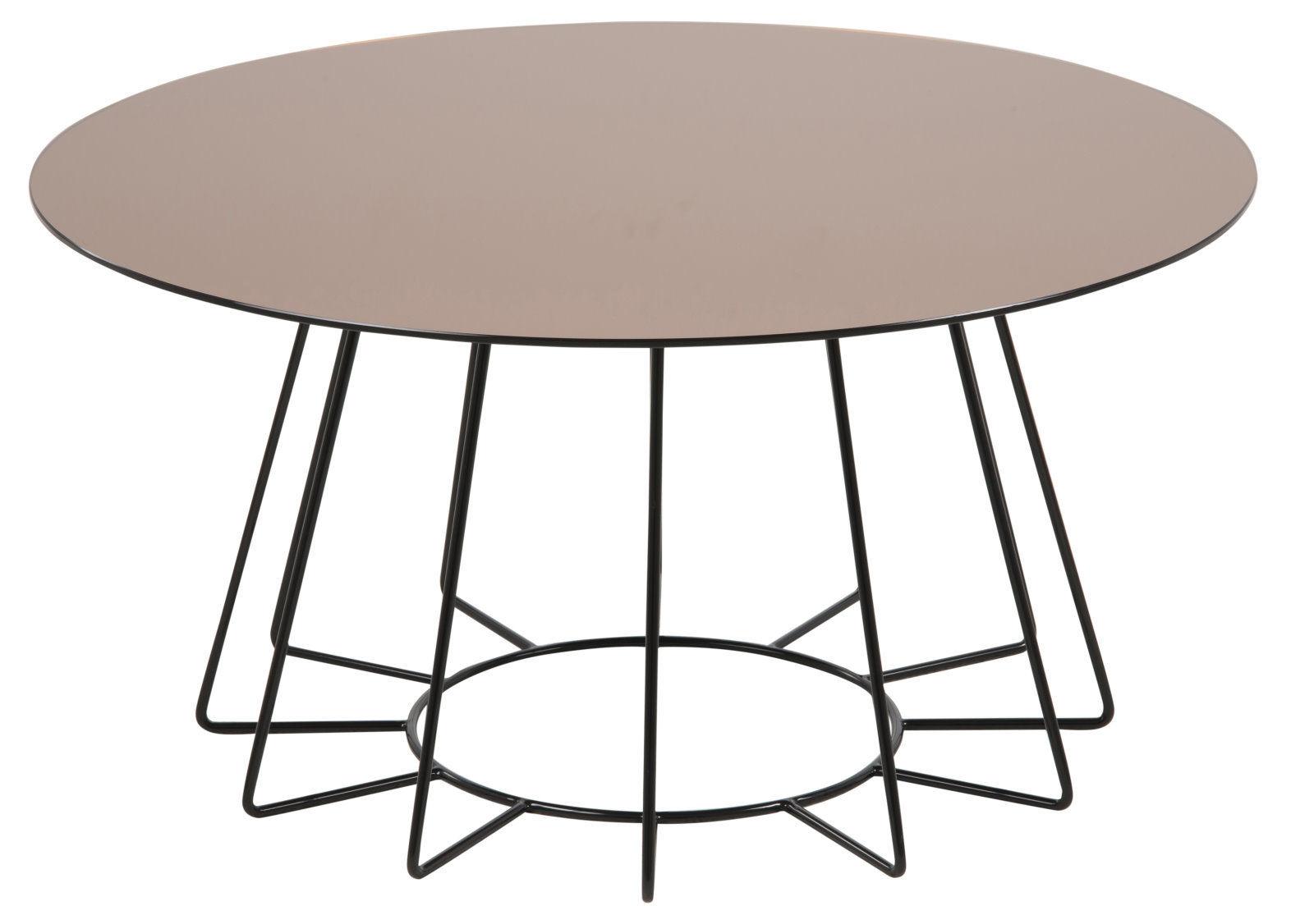 pkline couchtisch tisch beistelltisch wohnzimmertisch rund. Black Bedroom Furniture Sets. Home Design Ideas